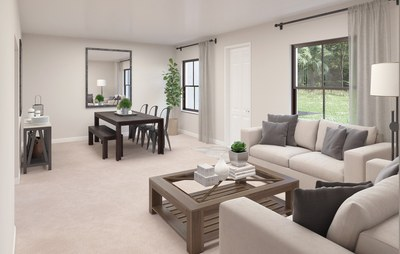 Edlin Living and Dining room at Galiano community