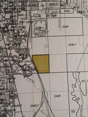 496 Acres in Sarasota County for Sale Map