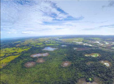 496 Acres in Sarasota County for Sale Drone