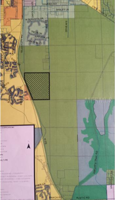 496 Acres in Sarasota County for Sale Map 2