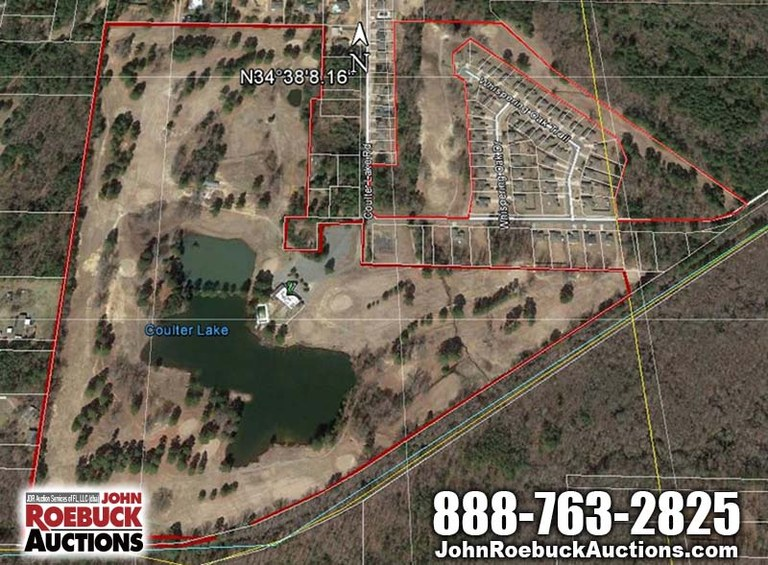 AUCTION: 8500 Castle Valley Road: Countryside Development Parcel For Sale in Mabelvale
