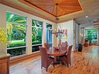 Lakefront Luxury Estate for Sale in Orlando Florida -  Eating Area