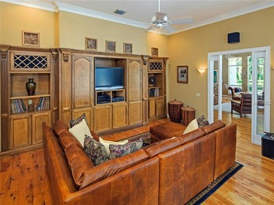 Lakefront Luxury Estate for Sale in Orlando Florida - Media Room