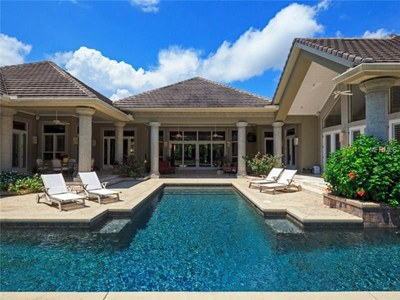Lakefront Luxury Estate for Sale in Orlando Florida - Pool Area