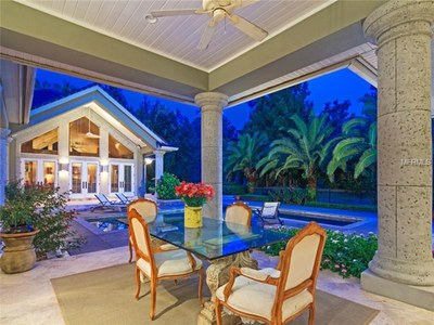 Lakefront Luxury Estate for Sale in Orlando Florida - Patio