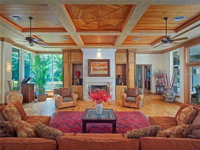 Lakefront Luxury Estate for Sale in Orlando Florida - Great Room