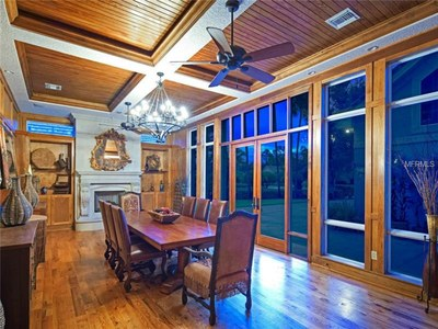 Lakefront Luxury Estate for Sale in Orlando Florida - Dining Area