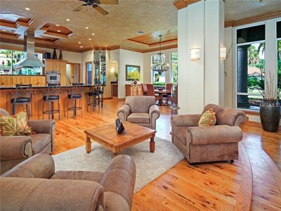 Lakefront Luxury Estate for Sale in Orlando Florida - Great Room View