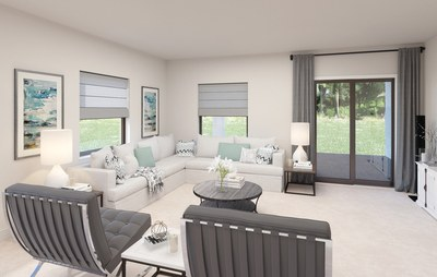 Family room of Willow  in Galiano at Miami, Florida