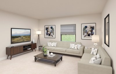 Family room of Mulberry  in Galiano at Miami, Florida