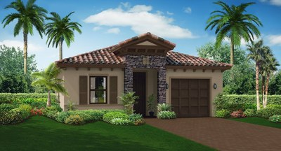 The Sanibel Elevation B Front view
