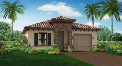 The Sanibel Elevation A Front view