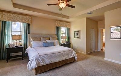 Harbor master bedroom